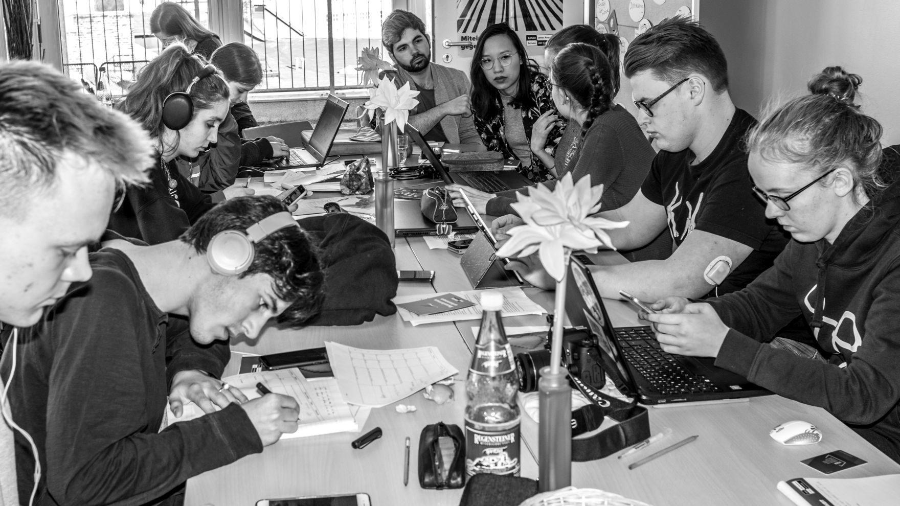 Schüler*innen schreiben für die q.rage 2019/2020